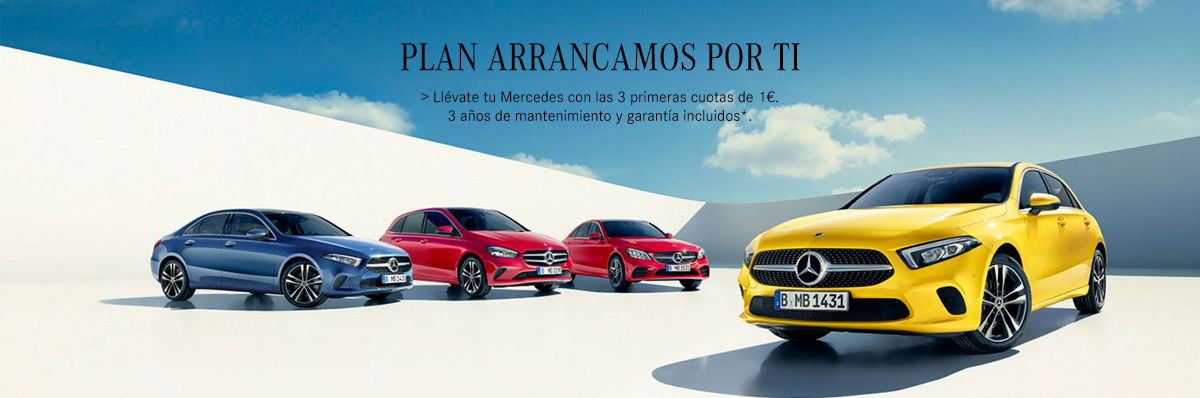 MERCEDES-BENZ-arrancamos